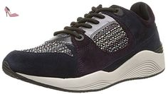 Geox U Vinto C, Sneakers Basses Homme, Gris (Anthracite/Papyrusc9A1S), 40 EU