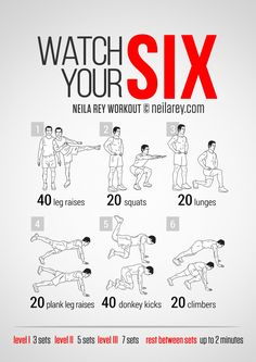 Watch Your Six Workout | neilarey.com | #fitness #bodyweight