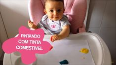 TINTA COMESTÍVEL PARA BEBÊS Reggio Emilia, Thing 1, Infant Activities, Toy Chest, Storage Chest, Baby, Art Activities For Kids, Creative Activities, Activities For Toddlers