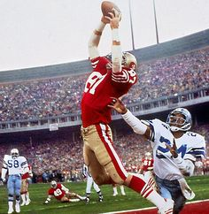 "Dwight Clark, San Francisco 49ers - ""The Catch"""