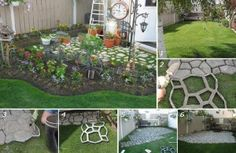 Cement-Cobblestone-Praktic-Ideas - Find Fun Art Projects to Do at Home and Arts and Crafts Ideas | Find Fun Art Projects to Do at Home and Arts and Crafts Ideas