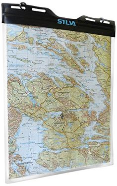 Silva Kartenh�lle Dry Map Case M, Transparent, One size, 30-0000039022