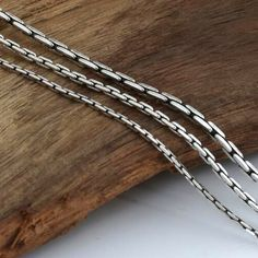 Men's Sterling Silver Coreanna Chain - Jewelry1000.com Silver Chain For Men, Mens Silver Jewelry, Gold Chains For Men, Mens Silver Necklace, Sterling Silver Jewelry, Silver Earrings, Silver Chains, Jewelry Model, Men's Jewelry