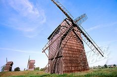 Old windmills in Lednogora. Malopolska. Poland Stock Photos | Royalty-Free & Rights-Managed Stock Images | SuperStock