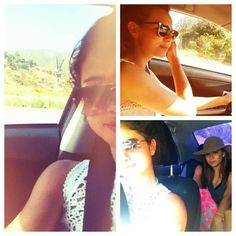 go on a road trip with your friends or family! Selena did!