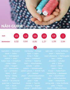 Näh-Guide für englische Schnittmuster • Freebie | Seemannsgarn • handmade