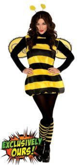 Adult Darling Bee Costume - Party City