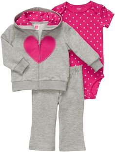 Carter's French Terry Cardigan Set - Best Price