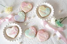 Hearts 結婚式アイシングクッキープチギフトウェディング通販売札幌 - ウェディング