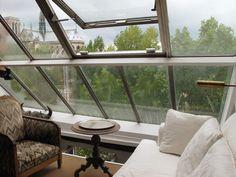 window of parisian apartment