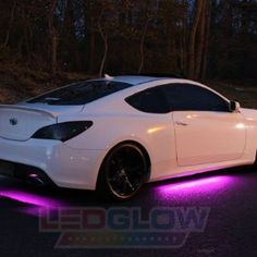 LEDGLOW Pink LED Slimline Underbody Underglow Kit