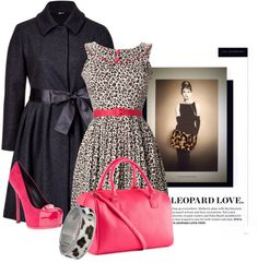 """Leopard"" by mz-happy on Polyvore"