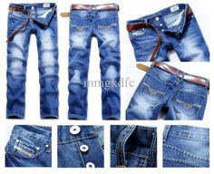 POP Top Quality Men's DS Jeans – teeteecee - fashion in style Jeans Outlet, Shirt Jacket, T Shirt, Jeans Pants, Denim Jeans, Stretch Jeans, Diesel, Cool Style, Mens Fashion