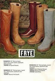 Vintage 1975 Frye