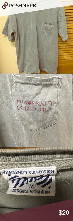 Fraternity collection shirt Fraternity collection shirt. Excellent condition. Size M Fraternity Collection Tops Tees - Short Sleeve