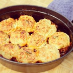 Beef Cobbler with rosemary & cheddar scones over on the blog right now.#livepeasant @simplybeefandlamb