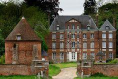 Chateau de Montlambert - Vieux-Manoir, Seine-Maritime, Haute-Normandie