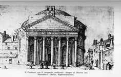 pantheon con campanile medievale, 1500 ca  Cerca con Google