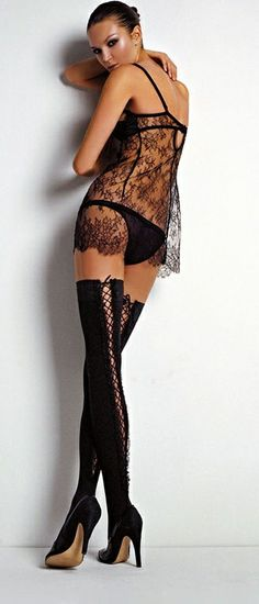 thigh high boots, lace, lingerie, sexy