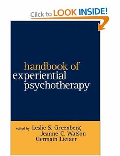 Handbook Of Experiential Psychotherapy Guilford Family Therapy: Amazon.co.uk: Leslie S. Greenberg.: Books