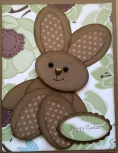 Easter Bunny 2014 - Good for teaching use of shapes and relationships to other shapes.