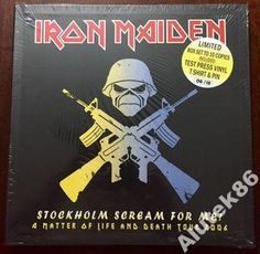 Iron Maiden  Stockholm Scream For Me!  MINT