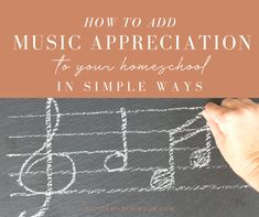 If you have a hard time adding music appreciation in your homeschool, look no further! This post tells you just how to do it simply and easily! Benefits Of Homeschooling, Homeschool Curriculum Reviews, Add Music, Music For Kids, Teaching Music, Teaching Kids, Types Of Learners, Music For Studying, Music Activities
