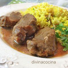 Con esta receta de solomillo de cerdo al vino tinto y una buena carne preparas al minuto un plato de lujo sin complicarte. Sirve con arroz pilaf o patatas