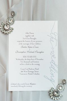 Photography: Kristy Ryan - Blush Wedding Photography - blushweddingphotography.org/   Read More on SMP: http://www.stylemepretty.com/canada-weddings/2015/03/13/black-white-new-years-eve-wedding/