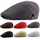 New Mesh Men's Gatsby Cabbie Ivy Driving Flat Cap Irish Hats Newsboy Golf Beret Irish Hat, Gatsby Hat, Driving Cap, Flat Hats, News Boy Hat, Mens Golf, Mens Caps, Beret, Hats For Men