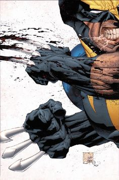 Wolverine By Joe Quesada #Comics #Illustration #Drawing