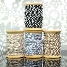 Brown + Black Shades of Baker's Twine