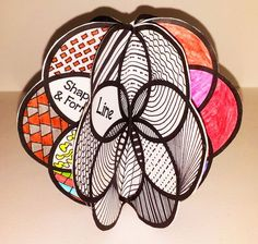 Art Craftivity - Elements of Design | Elements Of Art, Visual Arts ...