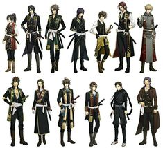 The new outfits (& new characters)