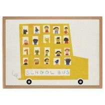 Have a nice day Schoolbus poster 70 x 50 cm