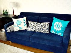 New cushions for the sofa