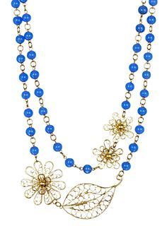 Natures Own Necklace on HauteLook With simple dress :)