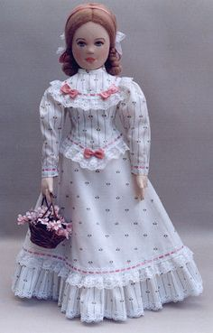 Country Comfort Cloth Doll Pattern Costume