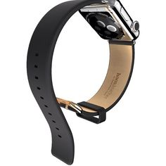 #Traditional leather #design with a stainless steel closure. #applewatch - http://ift.tt/1ULqdgy for more details
