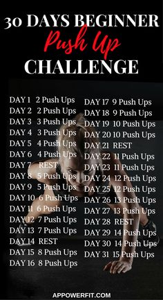 Do you know what muscles push ups work? Get tips on the perfect push up form. Start the push up challenge now! Thigh Challenge, Plank Challenge, Push Up Challenge, Workout Challenge, Workout Schedule, Workout Plans, Workout Ideas, 30 Day Fitness, Fitness Tips