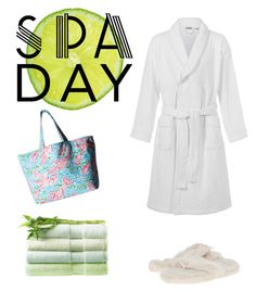 """""""Spa Day!"""" by aegreen23 on Polyvore featuring John Lewis, Lilly Pulitzer and Bedroom Athletics"""