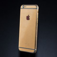 24 carat gold iPhone 6 with diamonds, zircons and Bohemian garnets