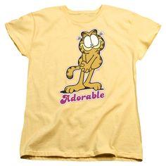 Garfield - Adorable Short Sleeve Women's Tee
