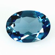 2-44-Ct-London-Blue-Brasilien-Topas-Oval-Facet-Inklusive-Zertifikat