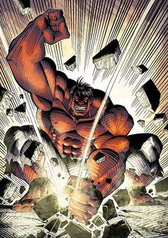 Red Hulk by Sal Buscema *