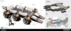 ArtStation - MARS - rover trailer, Oscar Cafaro