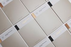 Print with copper foil and alabaster paper detail by Passport for interior design consultancy Pure