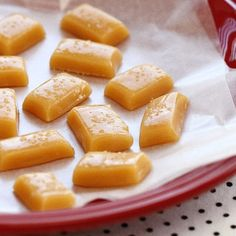 Make these chewy and creamy MICROWAVABLE Sea Salt Caramels in minutes! You'll never go back to the stove-top method!