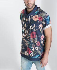 SUDADERA ESTAMPADA - Camisetas y Sudaderas - Hombre | ZARA México