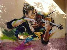 Grafiti en Málaga centro